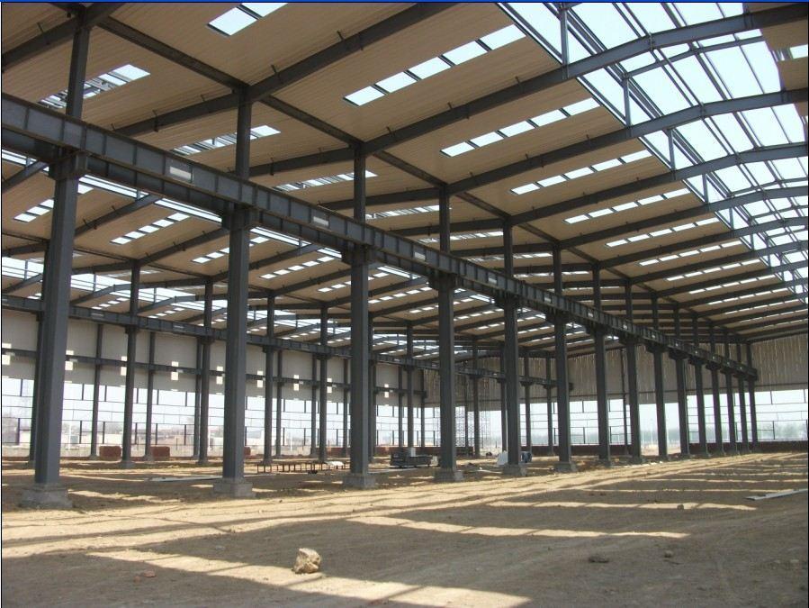 钢结构厂房|钢结构二层|钢结构雨棚|广告塔-石家庄钢